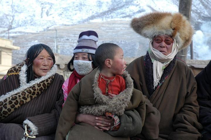 58 Tibet Xiahe nouvel an tibétain_2005