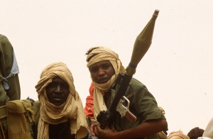 Combattants du Sahel (Tibesti) Photo P. Rochot 1983