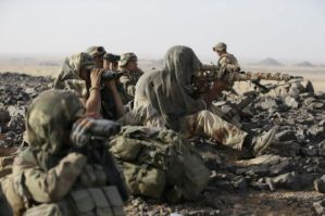 Mali Adrar des Ifoghas soldats français