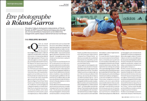 Photo Roland garros papier Competene Photo