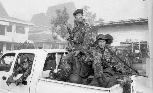 Timor 1999 armée indonésienne