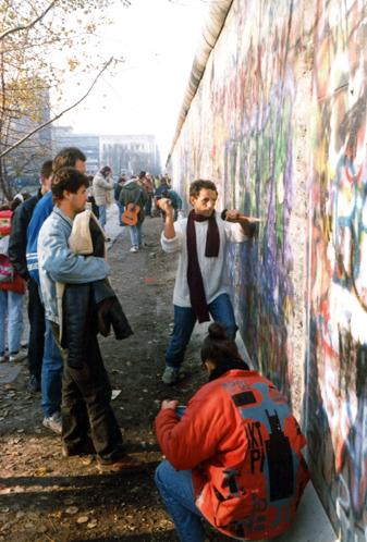 Berlin Ph rochot chute du mur 1989 (TIR)
