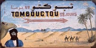 Tombouctou panneau