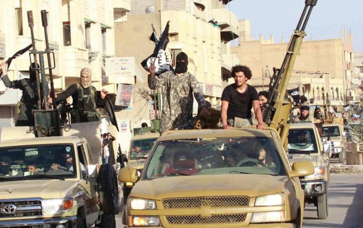 Daech en Syrie