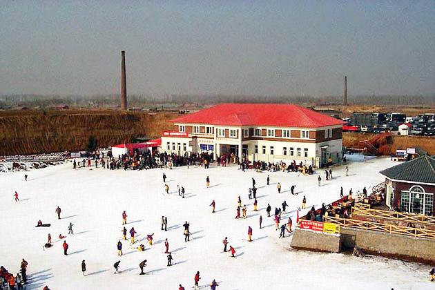 Chine Miyun ski  station