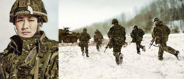 Canada armée