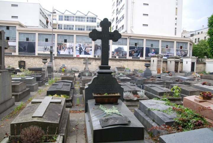 Syrie expo Muzaffar Salmann vue du cimetière de Grenelle mai 2015 (3) (Copier)
