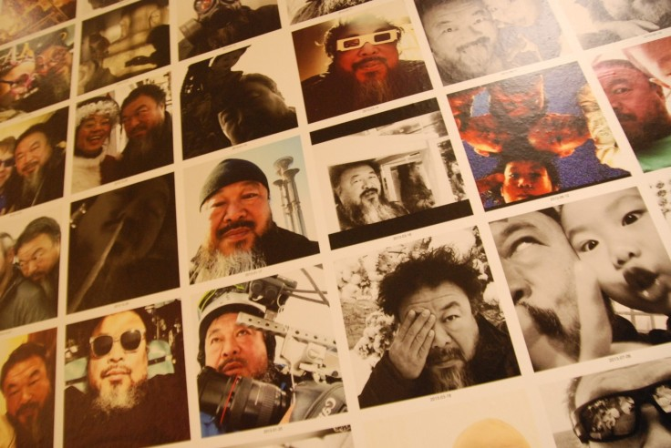Ai Weiwei selfies 2016 Bon Marché (4a) (2) (Copier)