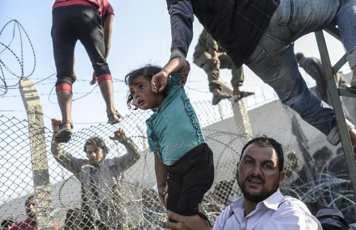 Bulent Kilic syrie Turquie frontière World press