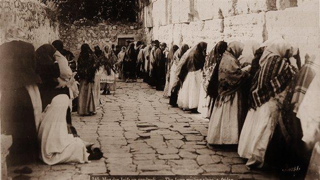 Mur des juifs photo Felix Bonfils