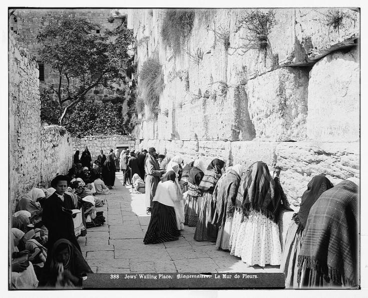 Mur lamentations Félix Bonfils