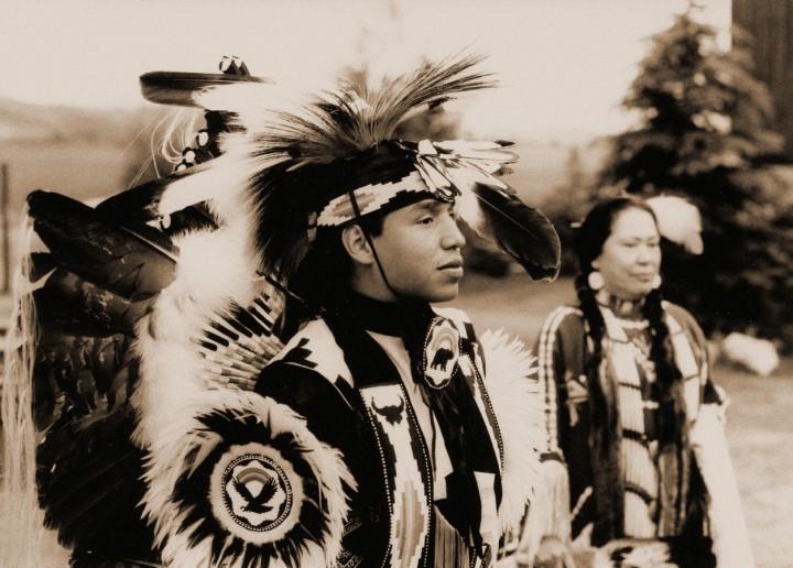 Indiens crows Yellowstone fête hommage 1993 (1) - Copie (Copier) - Copie