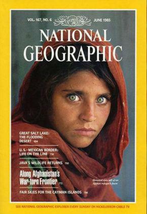 SteveMcCurry femme afghane 1984