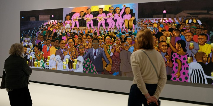 Vuitton Afrique arts avril 2017 Moke, peintre reporter de l'urbanité (1) (Copier)