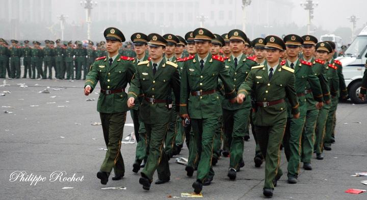 006 Chine Photos à tienanmen (signé)