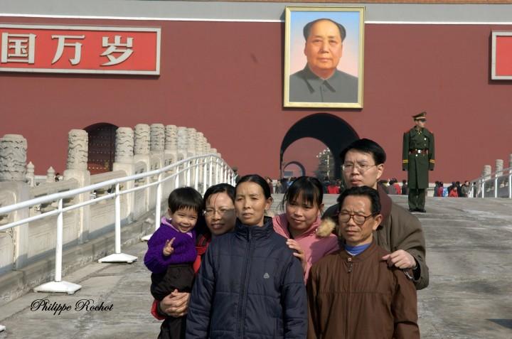 B Pékin Tienanmen (4) signé