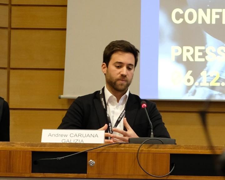 Conf liberté presse europe Andrew Caruana 6 dec 2019 (1)