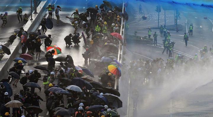 Hong Kong manif Nicolas Asfouri